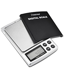 Digital Pocket Scale 0.1-1000 g with Protective Cover