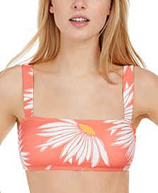 Printed Bralette Bikini Top