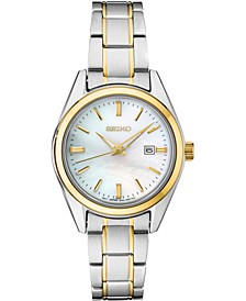 Women's Essentials Two-Tone Stainless Steel Bracelet Watch 29.8mm