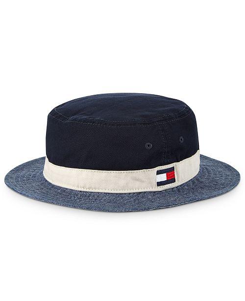 Tommy Hilfiger Men's Bernard Bucket Hat