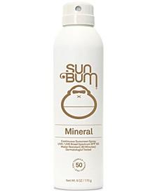Mineral Continuous Sunscreen Spray SPF 50, 6-oz.