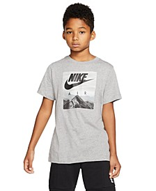 Big Boys Air Photo-Print Cotton T-Shirt