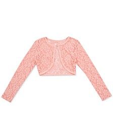 Big Girls Lace Cardigan Sweater