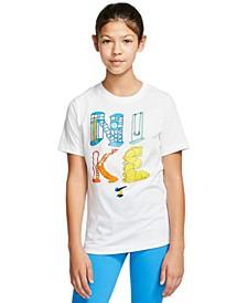 Big Girls Playground Cotton T-Shirt