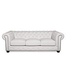 Alexandon Leather Chesterfield Sofa