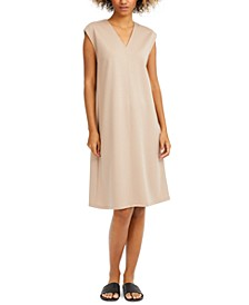Cap-Sleeve Popover Dress, Regular & Petite Sizes