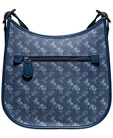 Emery Horse and Carriage Coated Canvas Crossbody