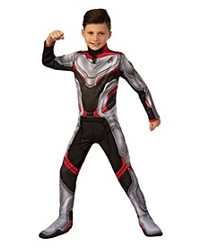 Avengers Big Girl and Boy Team Suit Costume