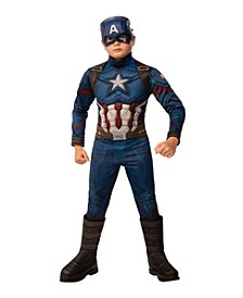 Avengers Big Boy Captain America Deluxe Costume