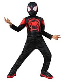 Spider-Man: Into the Spider-Verse Big Boy Miles Morales Spider Man Costume