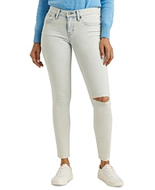 Lolita Low-Rise Ripped Skinny Jeans