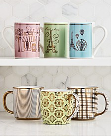 Novelty Mug Collection, Created for Macy's