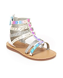 Oshkosh B'Gosh Toddler and Little Kids Girls Mila Gladiator Sandal