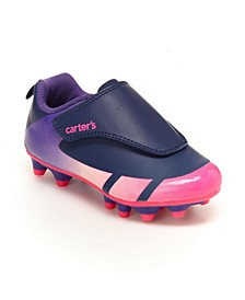 Toddler and Little Girls Soccer Cleat