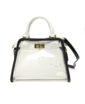 Vintage Handbags, Purses, Bags *New* Like Dreams Clear Retro Colorway Handbag $55.00 AT vintagedancer.com