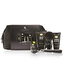 The Men's 6-Pc. Mid-Size Morris Park Unscented Travel Set