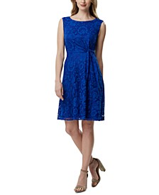 Side-Tie Lace Dress