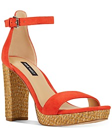 Dempsey Two-Piece Platform Sandals