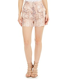 Lilla Printed Shorts