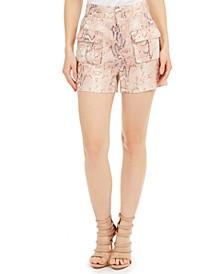 Lilla Linen Utility Shorts