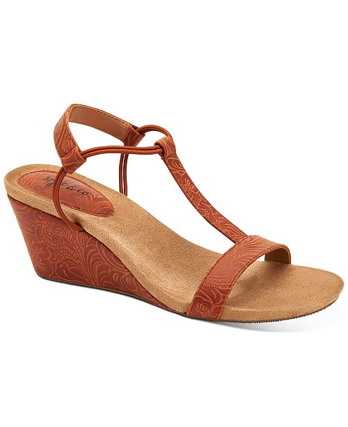 Style & Co Mulan Wedge Sandals, Created for Macy's