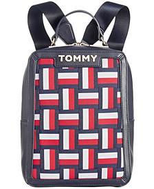Brooke Woven Novelty Backpack