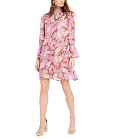 Marella Floral-Print Mini Dress