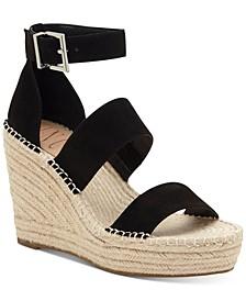 INC Women's Catiana Wedge Sandals, Created for Macy's