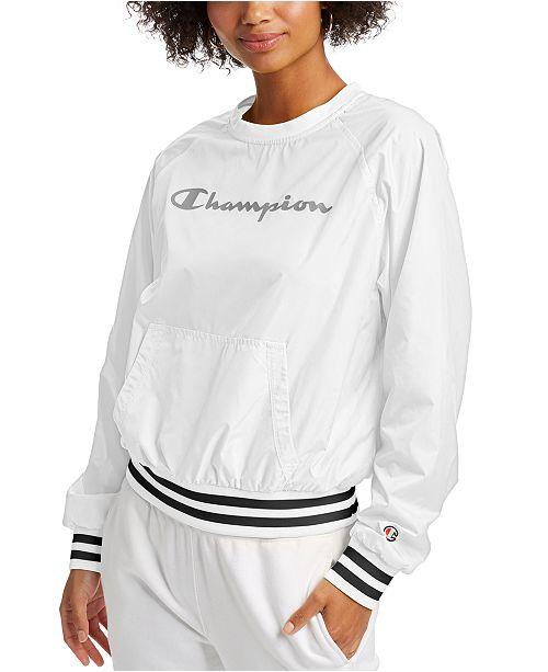 Champion Women's Ripstop Logo Sweatshirt