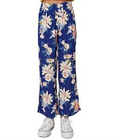 Big Girls Lennie Floral-Print Pants