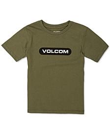 Big Boys Cotton Logo T-Shirt