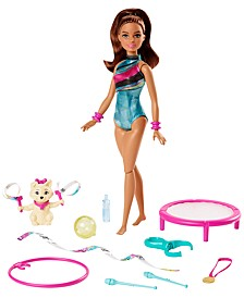 Dreamhouse Adventures Spin n Twirl Gymnast Doll and Accessories