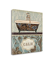 Bathroom Bliss II by Lisa Audit Giclee Print on Gallery Wrap Canvas