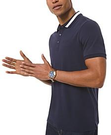 Men's Bold-Tipped Polo Shirt