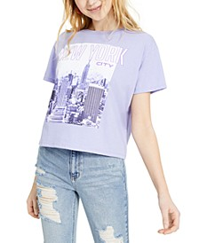 Juniors' New York City Graphic T-Shirt