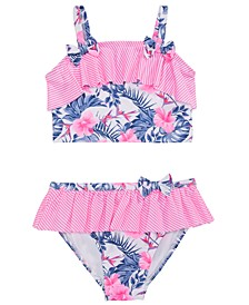 Toddler Girls 2-Pc. Floral Print Tankini