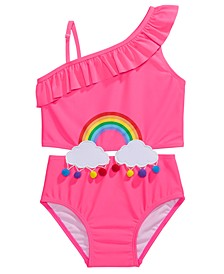 Boho Toddler Girls 1-Pc. Rainbow Swimsuit