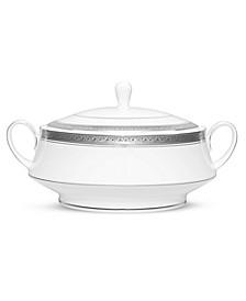Crestwood Platinum Covered Vegetable Bowl