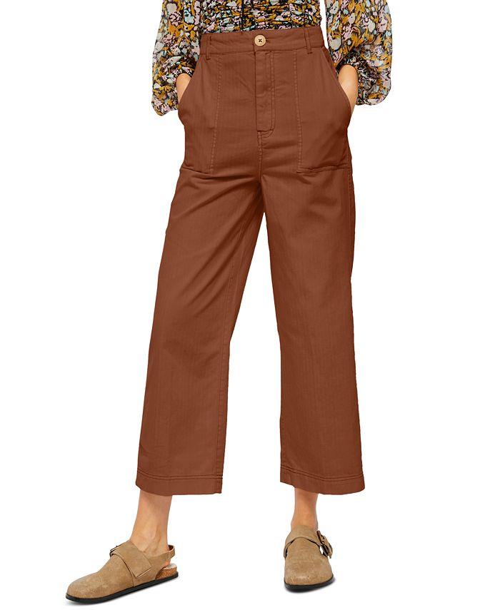 Free People - Sunday Skies Cotton Straight-Leg Pants