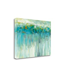 Lights On The Beach by Karen Lorena Parker gale on Gallery Wrap Canvas