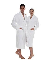 Crown Unisex Turkish Cotton Bath Robe