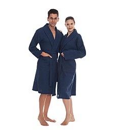 Venice Unisex Turkish Cotton Bath Robe