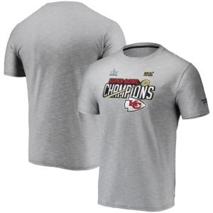 Men's Kansas City Chiefs Super Bowl Liv Champ Trophy Collection Locker Room T-Shirt