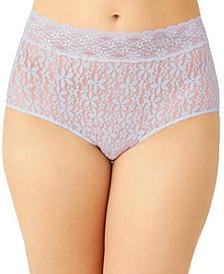 Women's Flower-Lace Brief 870405
