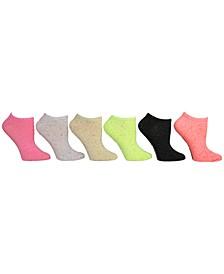 Women's 6-Pk. Speckled Yarn Low-Cut Socks