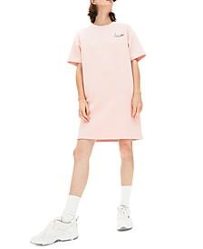Women's Short-Sleeve T-Shirt Logo Dress