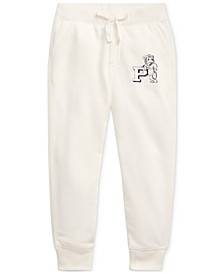 Toddler Girls French Terry Graphic Joggers