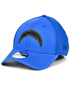 Los Angeles Chargers Team Color Silicone Neo 39THIRTY Stretch Fitted Cap