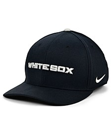 Chicago White Sox Legacy 91 Dri-FIT Swooshflex Stretch Fitted Cap