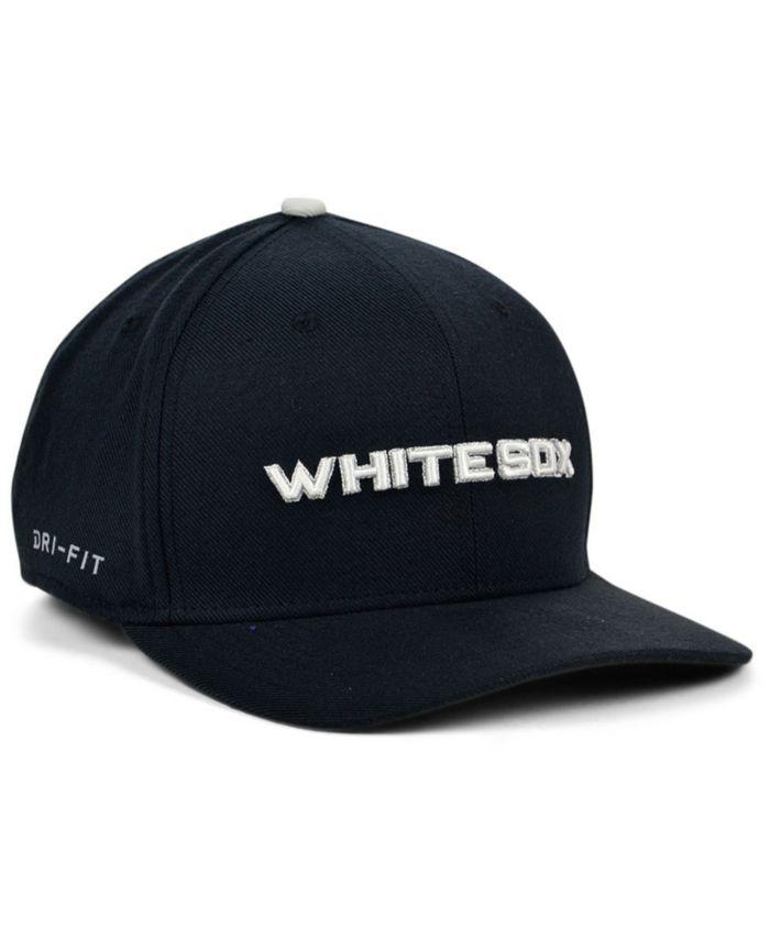 Nike Chicago White Sox Legacy 91 Dri-FIT Swooshflex Stretch Fitted Cap & Reviews - Sports Fan Shop By Lids - Men - Macy's
